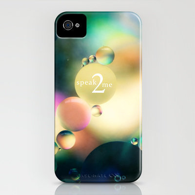 speak to me iPhone Case by Sylvia Cook Photography | Society6