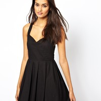 Club L Bow Back Summer Dress