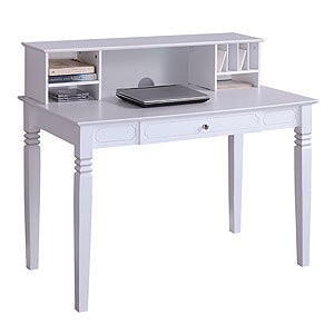 white douglas desk with hutch home from cost plus world