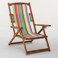 Bali Stripe Five-Position Chair Collection | Outdoor and Patio Furniture| Furniture | World Market