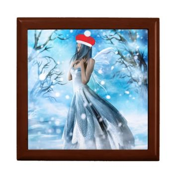 Snow Fairy Christmas Keepsake Box