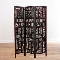 Rena Carved Screen | Living Room Furniture| Furniture | World Market