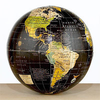 Decorative Black Globe | Decorative Accessories| Home Decor | World Market