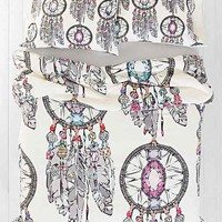 Sharon Turner for DENY Gemstone Dreamcatcher Duvet Cover - Urban Outfitters