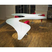 Bernstein Architecture Suspended Dining Table Free Form - Tables: Dining - Modenus Catalog