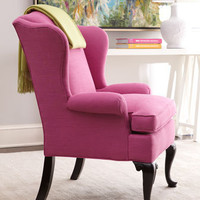 """Sally"" Wing Chair - Neiman Marcus"