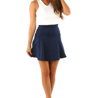 Seeing Doubles Dress: Navy