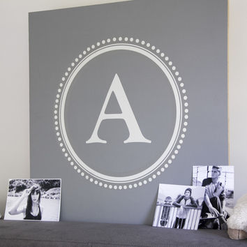 Monogram & Alphabet Wall Decals