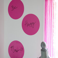 Dry-Erase Dot Decals