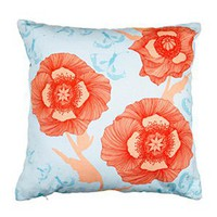 Camilla Meijer Poppyflower Fabric Cushion - Pillows - Modenus Catalog