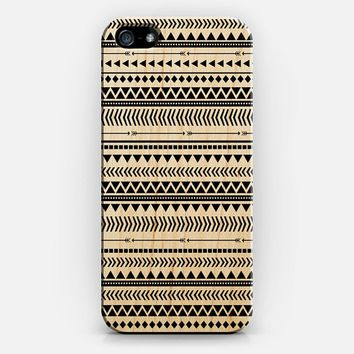 BLACK AND WHITE AZTEC iPhone 5s case by Allyson Johnson | Casetify