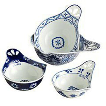 Pier 1 Imports - Product Details - Blue & White Measuring Cups