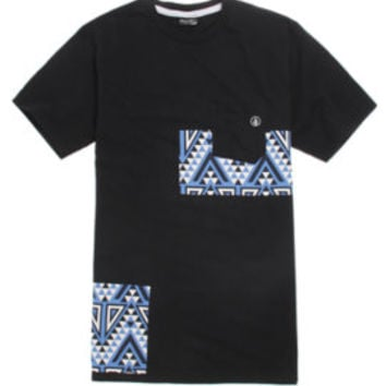 Volcom Trenton Pocket T-Shirt - Mens Tee - Black -