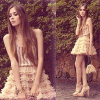 "Chicwish Skirt, Cute Pie Ring //""Je t'aime toujours"" by Flávia Desgranges van der Linden // LOOKBOOK.nu"