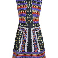 PETER PILOTTO | Abstract Silk Sleeveless Dress | Browns fashion & designer clothes & clothing