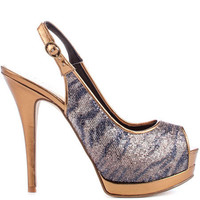 Guess's Multi-Color Glenisa 3 - Bronze Multi Fabric for 99.99 direct from heels.com