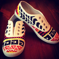 Aztec Shoes by CustomizeYourLife on Etsy