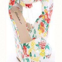 White Patent Faux Leather Floral Print Platform Wedges @ Amiclubwear Wedges Shoes Store:Wedge Shoes,Wedge Boots,Wedge Heels,Wedge Sandals,Dress Shoes,Summer Shoes,Spring Shoes,Prom Shoes,Women's Wedge Shoes,Wedge Platforms Shoes,floral wedges,Fashion Wedg