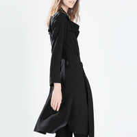 LONG FLOWY COAT
