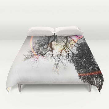 The Optimist Duvet Cover by DuckyB (Brandi)