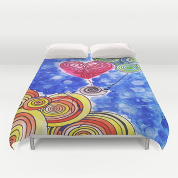 Hope Floats (daydream) Duvet Cover by DuckyB (Brandi)
