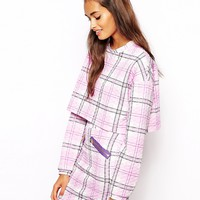 The Laden Showroom X Renee London Tartan Quilt Sweatshirt