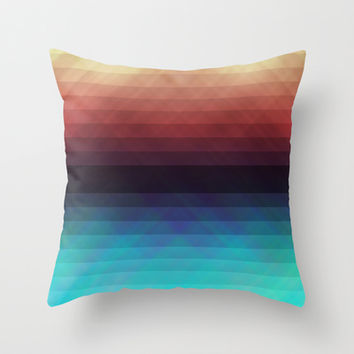 Geometric 08 Throw Pillow by VanessaGF