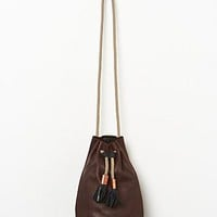 Eleven Thirty Womens Christie Bucket Bag - Chestnut, One