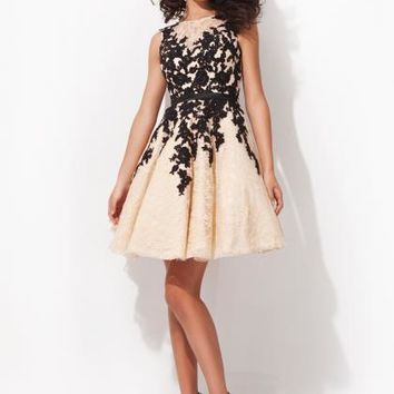 2014 Tony Bowls Short Homecoming Dress TS21462 at Peaches Boutique
