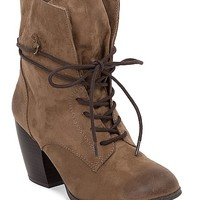 Women's Maze Bootin Brown by Daytrip.