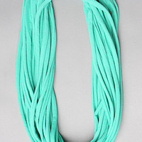 The Slashed Knotted Scarf in Spring Green by Alternative Apparel | Karmaloop.com - Global Concrete Culture