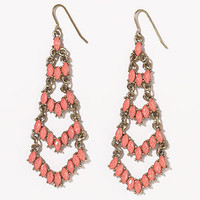 Coral Chandelier Earrings | Jewelry and Accessories | World Market