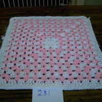 CROCHET BLANKET for Prem Baby or Doll   ID 739 ... - Folksy