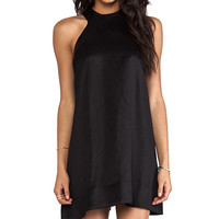 AQ/AQ Voyage Mini Dress in Black