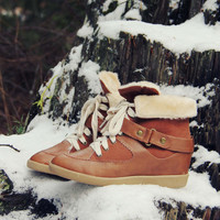 Ski Patrol Cozy Booties