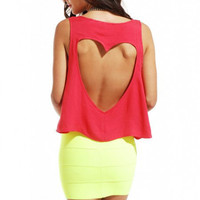 Sweetheart Back Tank by ShopAKIRA | Heart Tank | ShopAKIRA.com