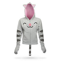 ThinkGeek :: Soft Kitty Ladies&#x27; Hoodie