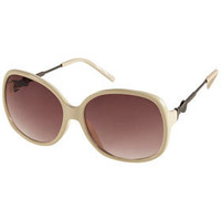 Bow Arm Metal Sunglasses - Sunglasses  - Accessories  - Topshop