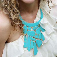 Mint &amp; Nectar Necklace in Turquoise