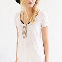 Truly Madly Deeply Inside-Out Scoopneck Tee - Urban Outfitters