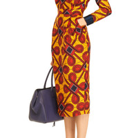 Printed Cotton Dress by Stella Jean - Moda Operandi