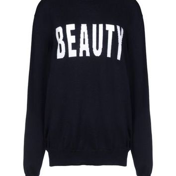 Msgm Long Sleeve Sweater - Msgm Sweaters Women - thecorner.com