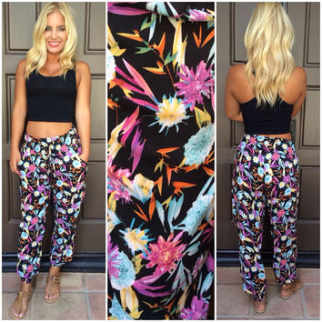 Birds of Paradise Harem Pants