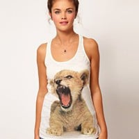 River Island | River Island Tiger Cub Tank at ASOS
