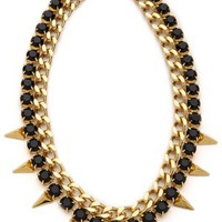 Vicious Love Chain & Pyramid Necklace