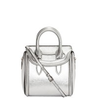 Metallic Mini Heroine Alexander McQueen | Top Handle | Bags |