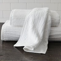 Organic Woodgrain Towel | west elm