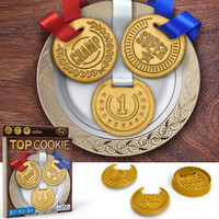 TOP COOKIE (MEDALS) COOKIE CUTTERS