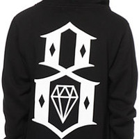 REBEL8 8 Logo Zip Up Hoodie