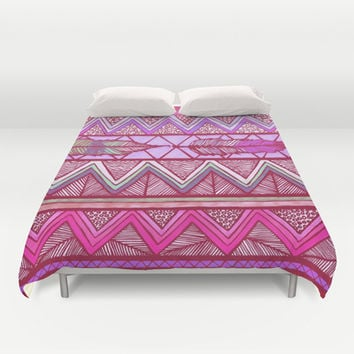 Two Feathers Two... Duvet Cover by Lisa Argyropoulos | Society6